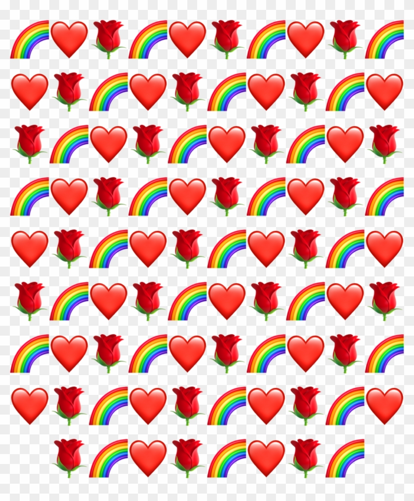 Rainbows Emojis Iphoneemoji Backgrounds Useit Remixit, HD