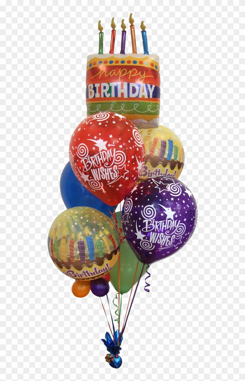 Big Birthday Wishes Balloon Bouquet Birthday Balloons Hd Png Download 960x1280 270265 Pngfind