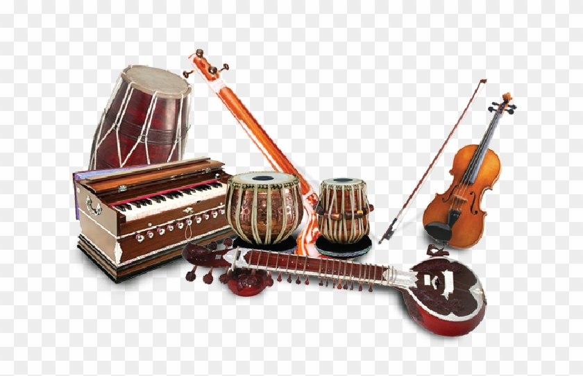 Classical Music - Indian Classical Music Instruments Png ...