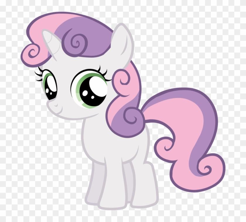 Imágenes De Unicornios Kawaii My Little Pony Sweetie Belle Hd Png