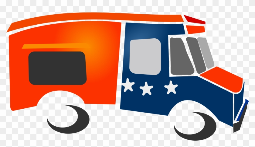 Food Truck Clipart Animated Food Truck Png Transparent Png 2400x1800 277743 Pngfind