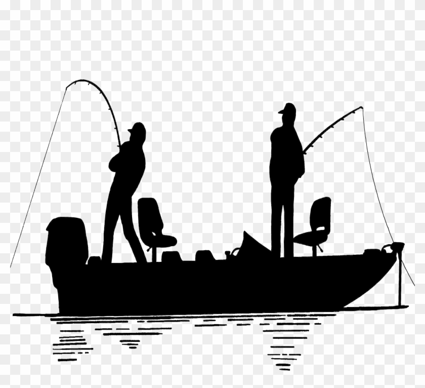 Fisherman Png Photo Fishing Boat Silhouette Transparent Png 3690x3690 279727 Pngfind