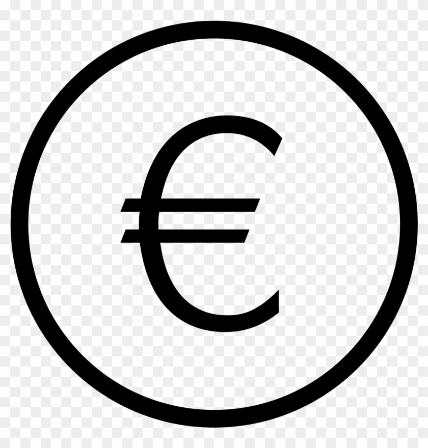 Euro Symbol Download Png - Dollar Sign Line Icon