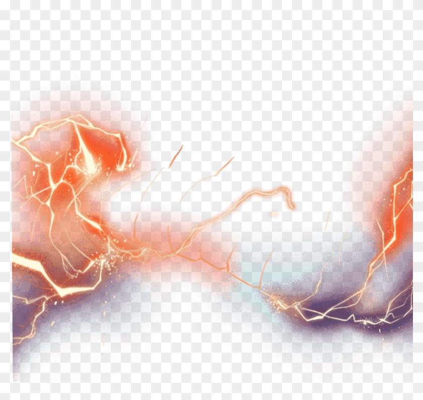 thunder #lightning #light #flash - Lightning, HD Png Download
