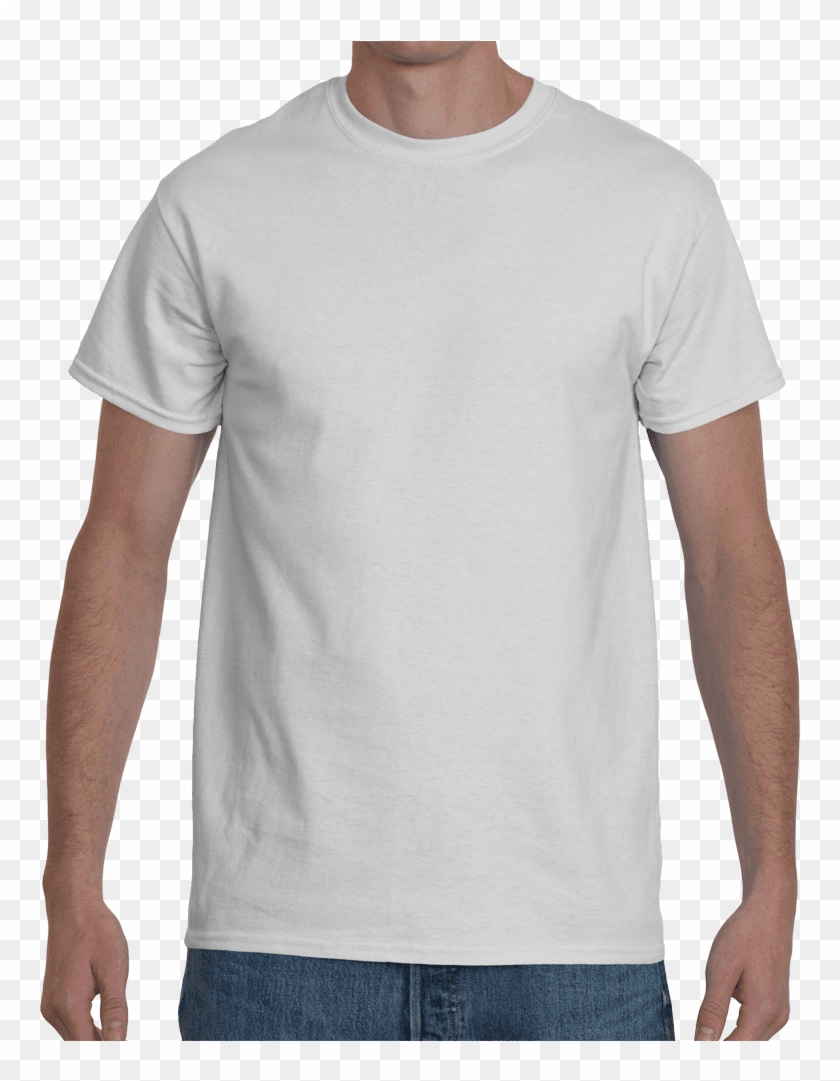 Mockup Tool White Gildan Shirt Mockup Hd Png Download