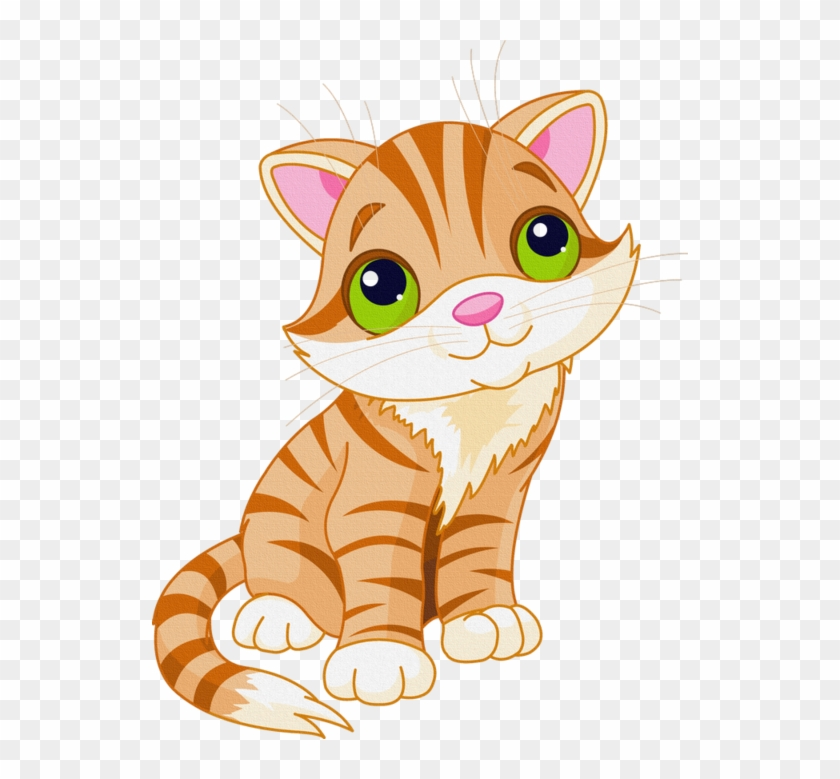 Cat transparent background. Cute cartoon funnypictures png