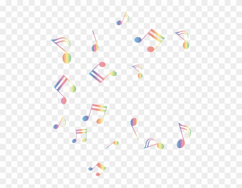 Colorful Music Background With Color Music Notes Png Background Music Notes Png Transparent Png 518x600 2723018 Pngfind