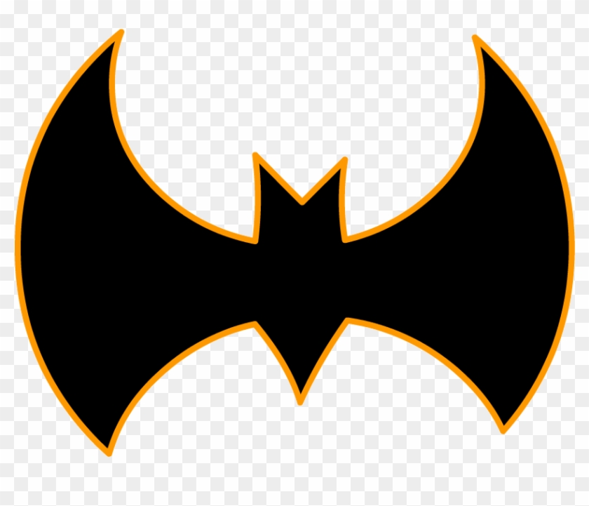 Bat Signal Drawn With Basic Shapes In Adobe Animate - Emblem