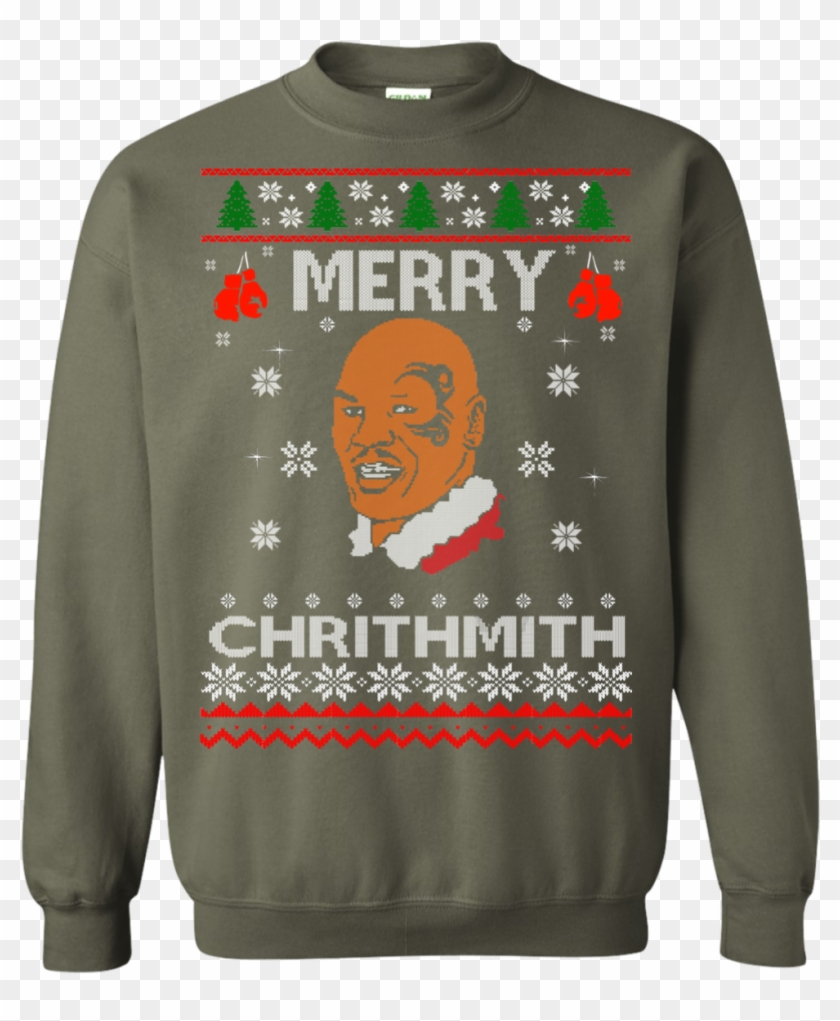 Mike Tyson Merry Christmas.Merry Chrithmith Mike Tyson Ugly Christmas Sweater Ugly