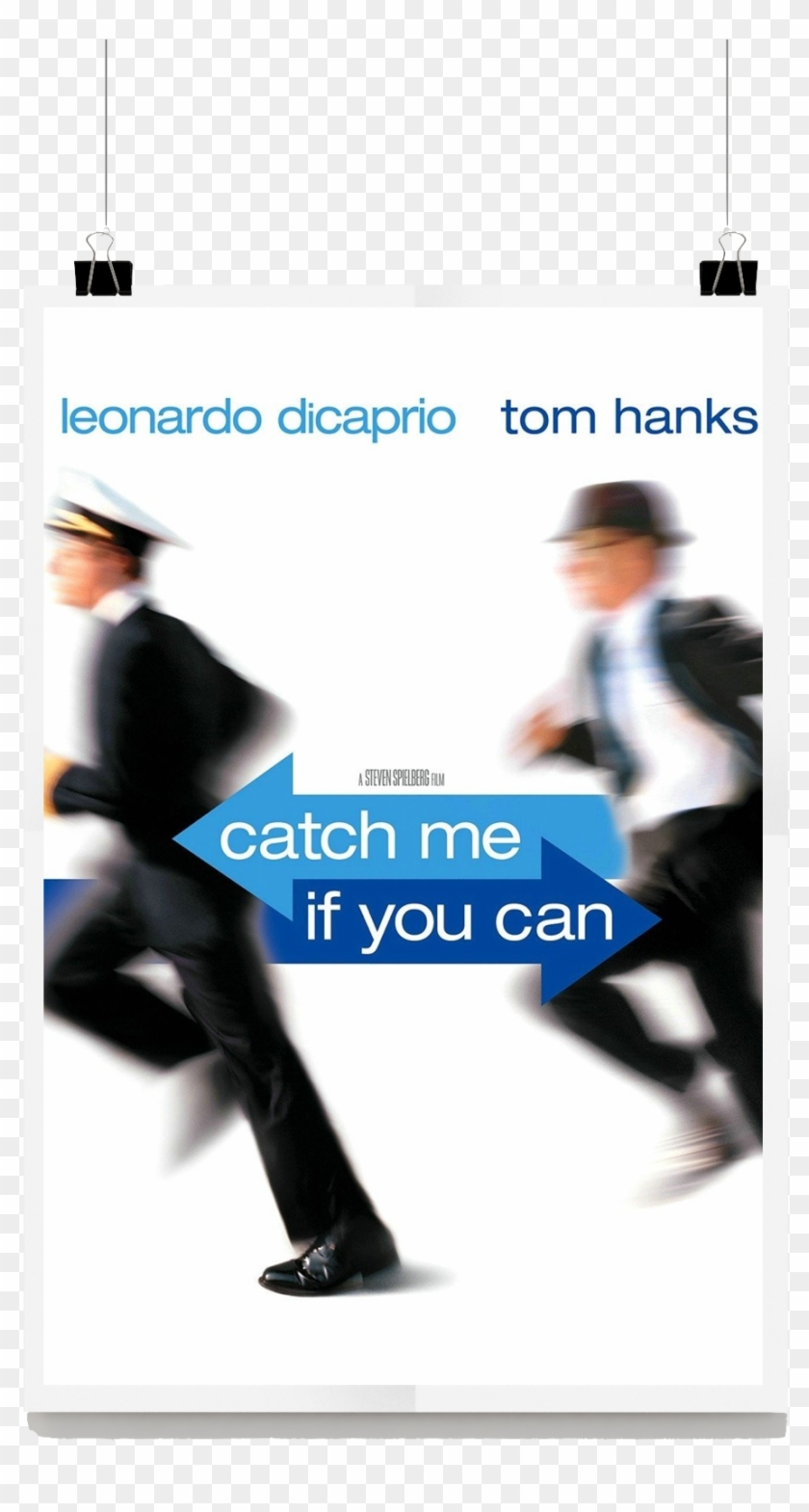 Catch Me If You Can Movie Review Catch Me If You Can 2002 Dvd Hd Png Download 934x1631 2729179 Pngfind