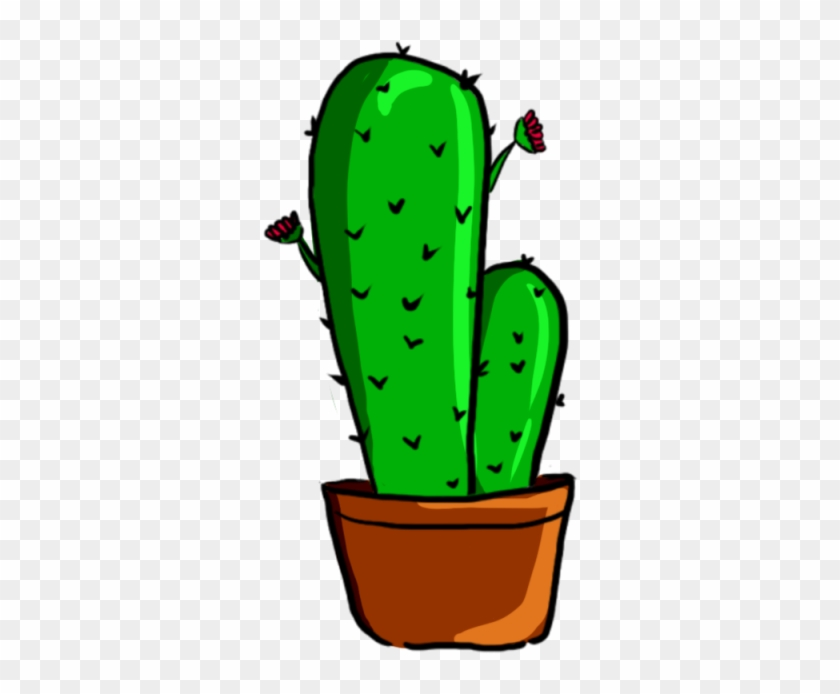 Collection Of Free Cactus Vector Psd - รูป การ์ตูน ต้น กระบองเพชร