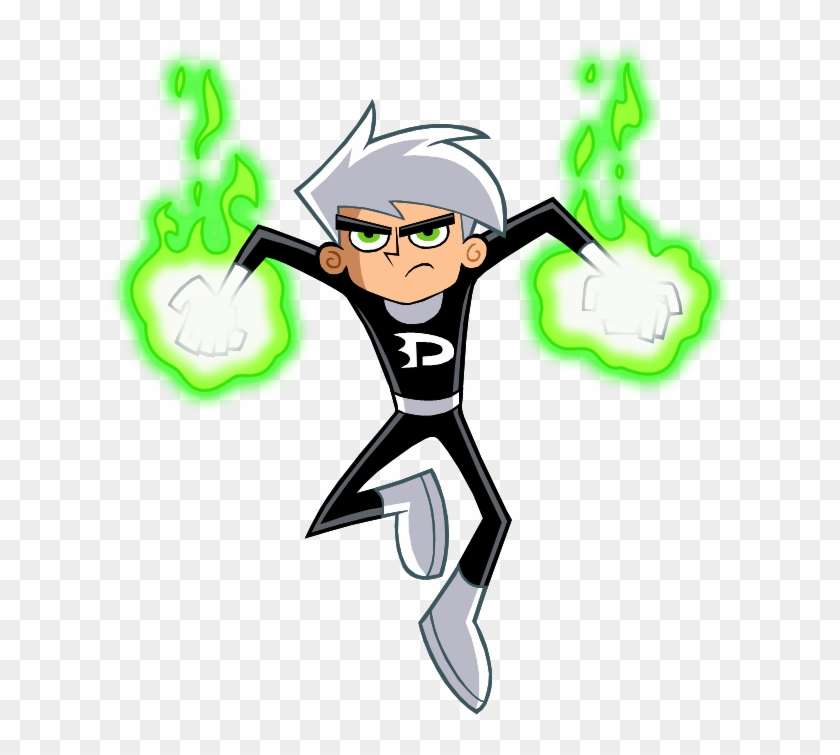 New Danny Phantom Vector 2 By Christophr1 Dbfnvwa Danny Phantom No Background Hd Png Download 626x675 2738216 Pngfind