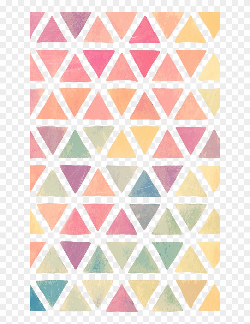 274 2745559 watercolor rainbow pattern background triangle iphone 5 wallpaper