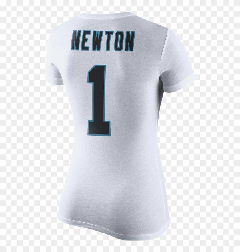 c03cdbe0 Carolina Panthers Women's Nike Pride Cam Newton - Active Shirt, HD ...