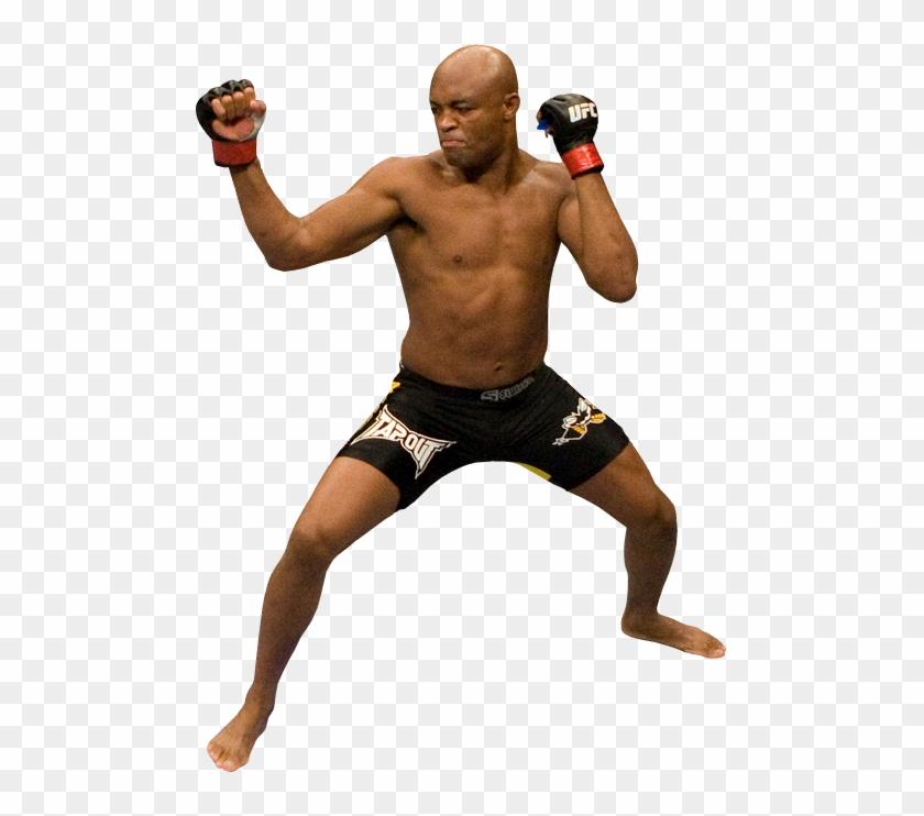 Mixed Martial Arts Png Mma Png Anderson Silva Mma Png Transparent Png 483x662 2755482 Pngfind
