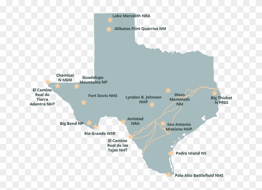 Map Of Texas Meme.Texas National Parks The Parks Texas Pbs Lake Meredith Texas Map