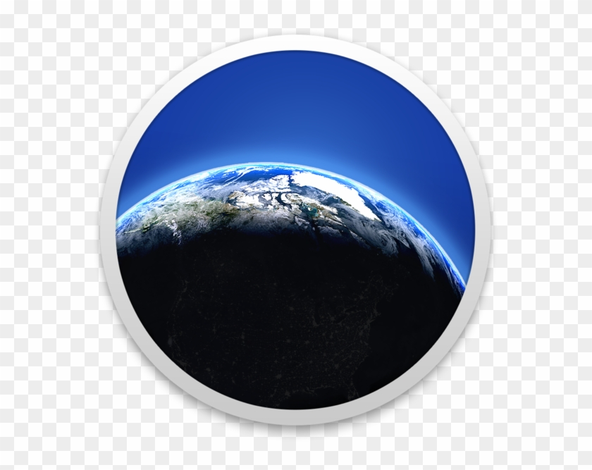 Desktop Weather & World Clock 4 - Icon, HD Png Download