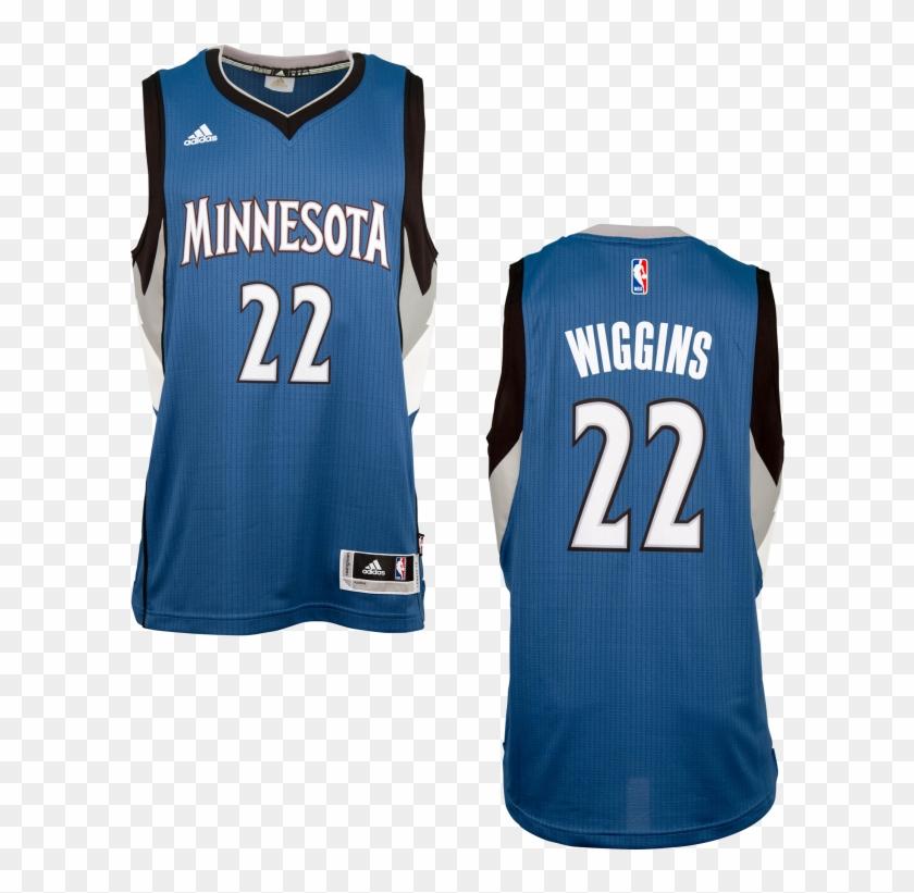 new concept 4b28a de0f2 Adidas Minnesota Timberwolves Andrew Wiggins Road Swingman ...