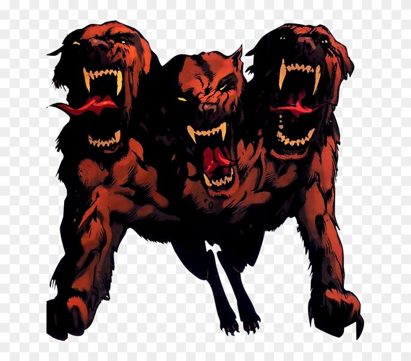 Chien De Hades Clipart Png Download Marvel Pets Handbook Transparent Png 651x658 2789885 Pngfind