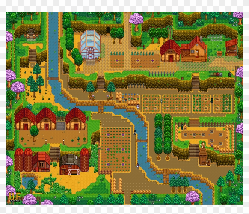 Stardew Valley Hilltop Farm Layout Png Download Stardew Valley Hill Top Layout Transparent Png 1280x1040 2795362 Pngfind