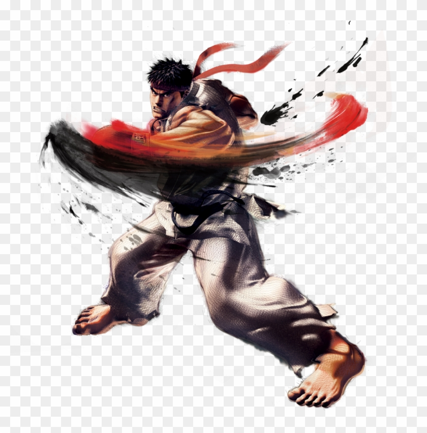 Ryu Png Transparent Png 675x653 282644 Pngfind