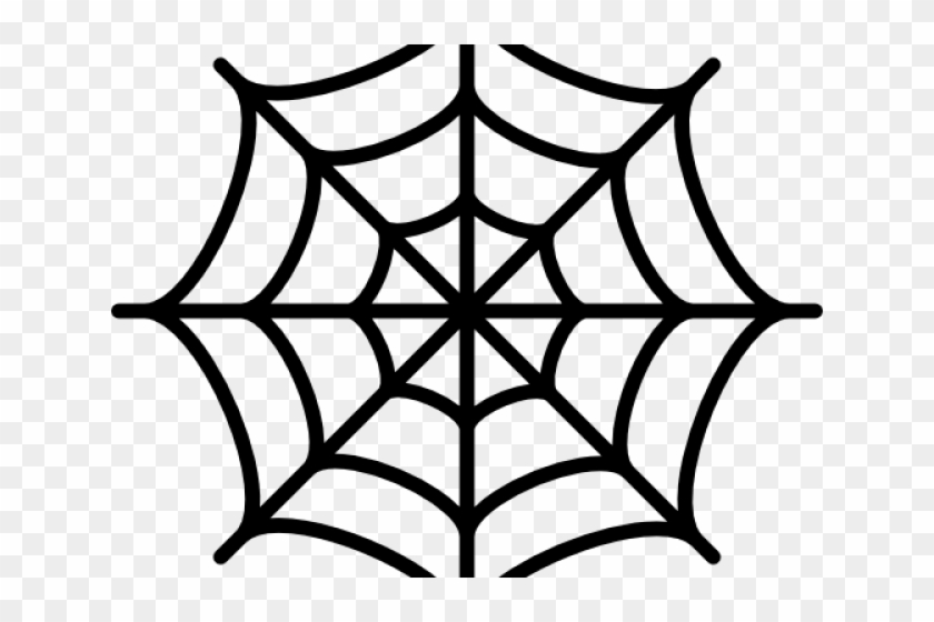 Spider web simple. Clipart hd png download