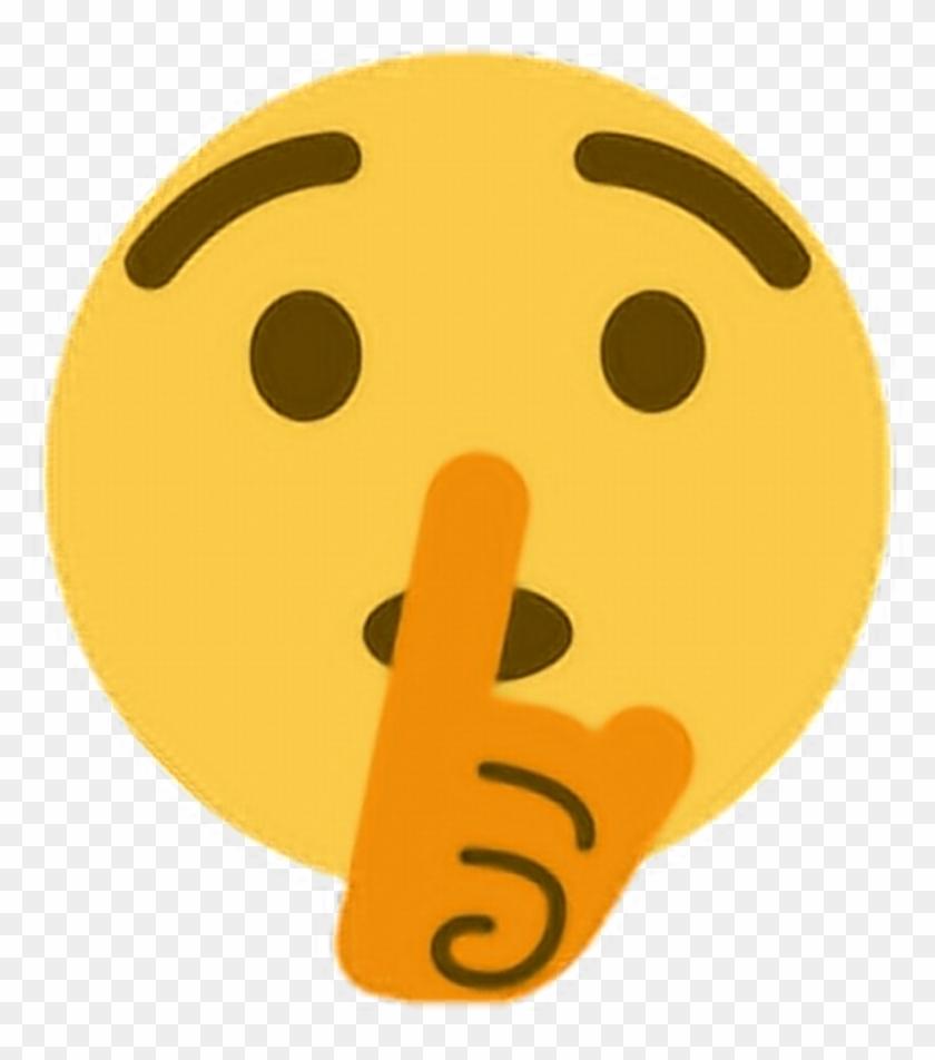 Transparent Background Silent Emoji, HD Png