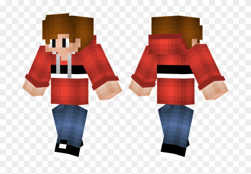 Red Hood Boy Minecraft Skins Rubix Cube Hd Png Download 716x514 2823550 Pngfind