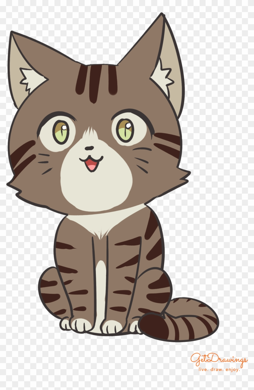 How To Draw A Cute Cartoon Cat Cartoon Hd Png Download 2480x3507 2825112 Pngfind