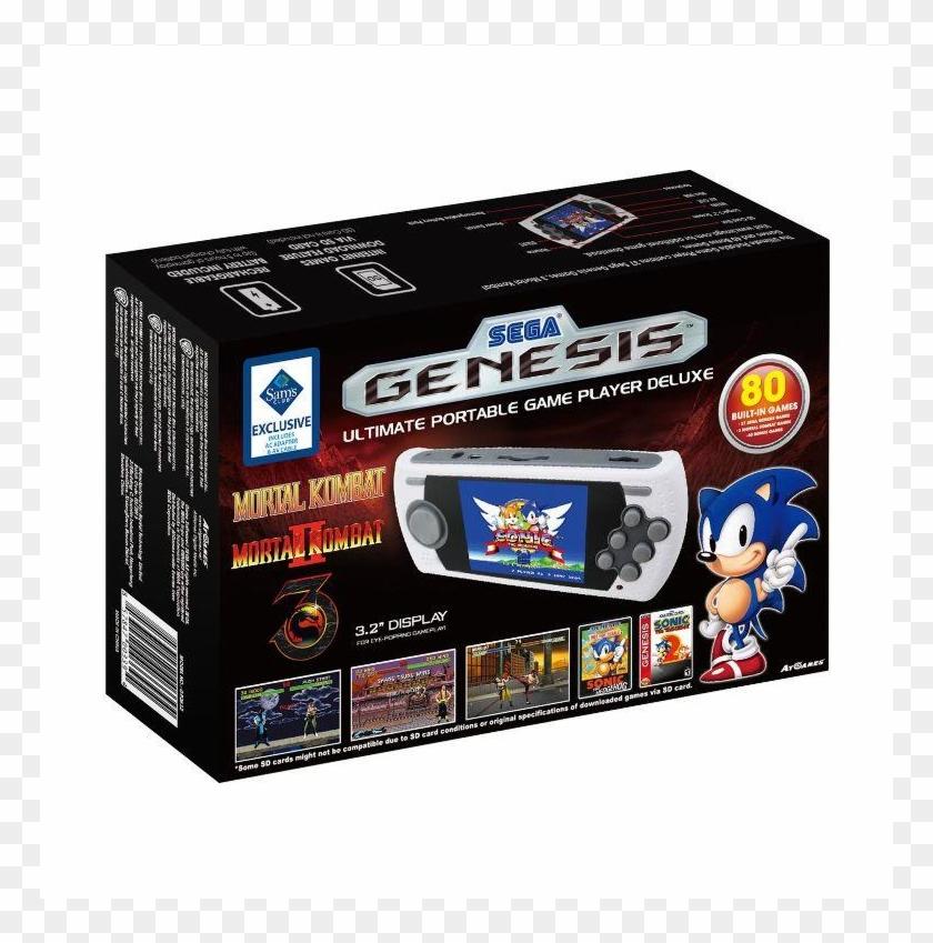 Sega Genesis Portable Download Games - 857847003394, HD Png
