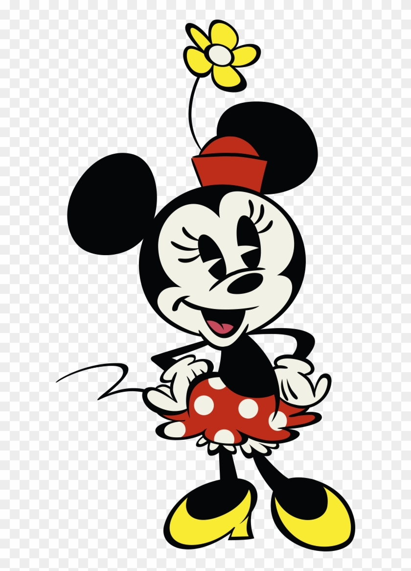 Disney Wiki Fandom Powered By Wikia Mickey Ⓒ - Minnie Mouse Disney Channel,  HD Png Download - 612x1086(#2835610) - PngFind