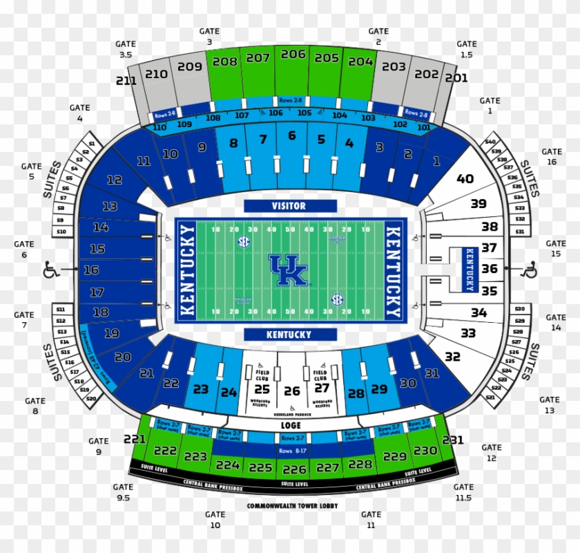 Uf Football Student Tickets Kentucky Football Kroger Field