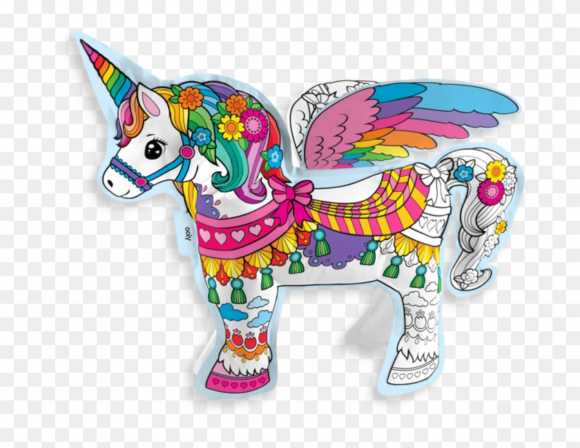 D Colorables Magical Coloring Toy Ooly Unicorn Color Hd Png Download 800x800 2836907 Pngfind