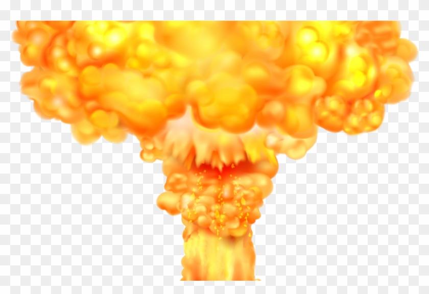 Mushroom Cloud Explosion Transparent Background, HD Png
