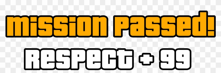 Gta Sticker - Mission Passed Gta San Andreas Png, Transparent Png