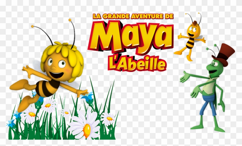 Maya The Bee Movie Image Maya L Abeille Piquant Hd Png Download 1000x562 2859205 Pngfind
