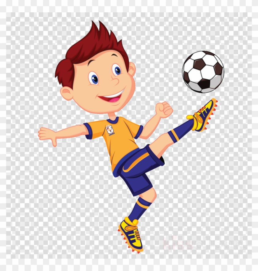 Download Playing Football With Friends Clipart Football