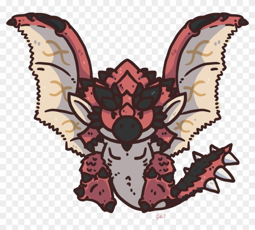 Rathalos In Monster Hunter Games Monster Hunter World Chibi Hd