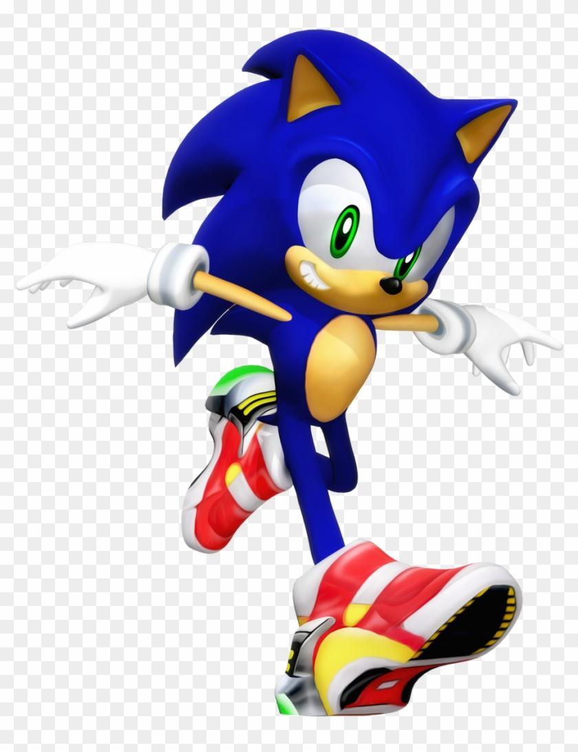Rock On Twitter - Sonic Adventure 2 Model, HD Png Download