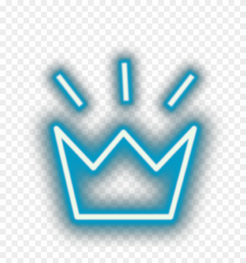 Transparent Neon Crown Png , Png Download - Aesthetic Neon Lights