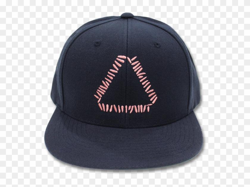 2badfbce Embroidered Triangle Logo Snapback - Baseball Cap, HD Png Download ...