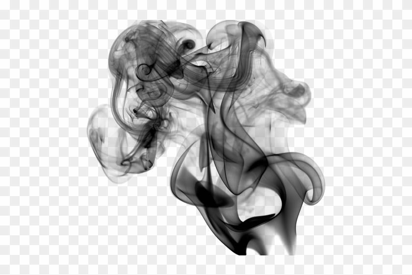 Smoke Effect Clipart Overlay Png - Black Smoke No Background