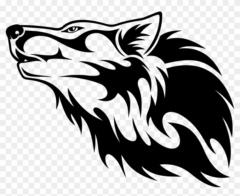Wolf Head Vector Png , Png Download - Transparent Wolf Logo