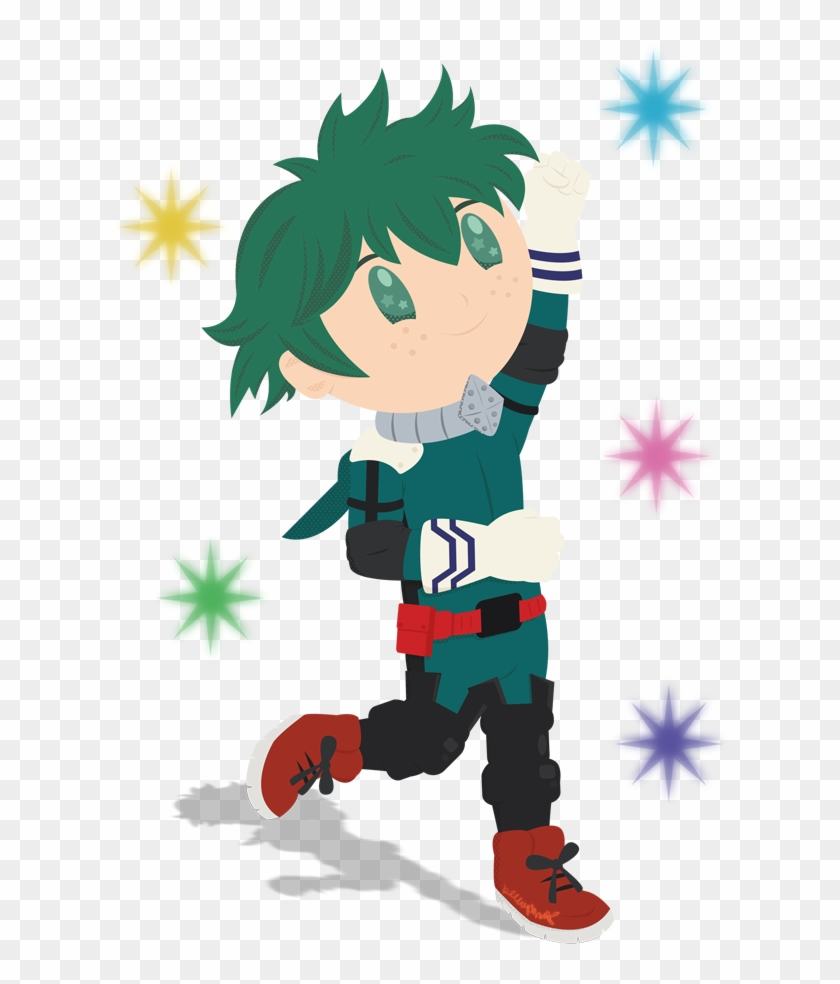 Chibi Deku Online Submission Cartoon Hd Png Download