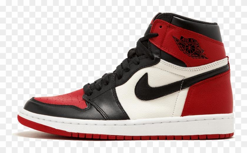 "1Hd ""bred Nike High Og Red Png Air Toe"" Jordan 1 Retro c5A34SRjLq"