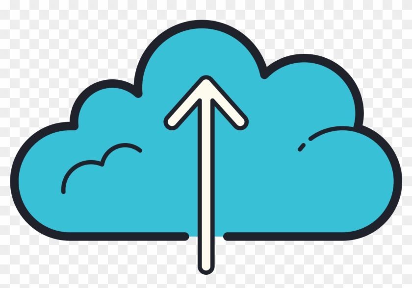Upload To Cloud Icon - Upload Icon, HD Png Download - 1473x961