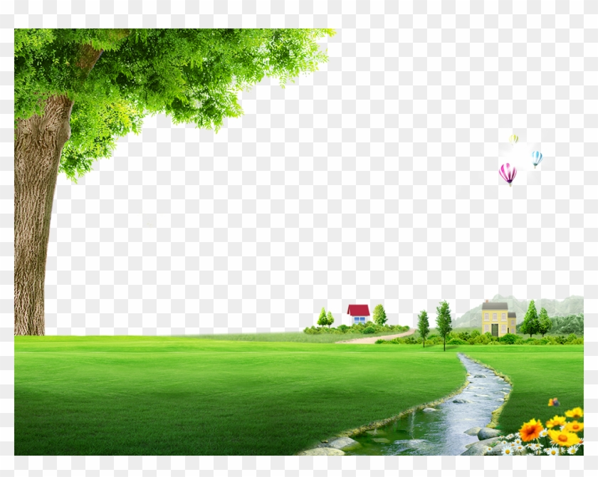 Nature Spring Photography Floor Field Landscape Clipart