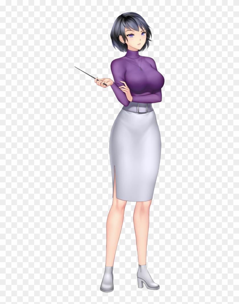 Anime girl with black hair short hair harumi saito anime girl short hair hd