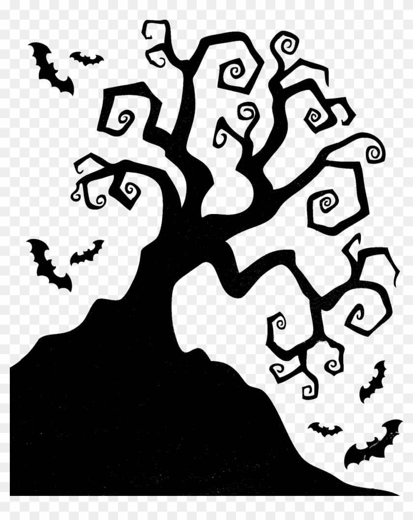 Clipart Tree Halloween Halloween Tree Silhouette Hd Png Download 1321x1600 2941205 Pngfind