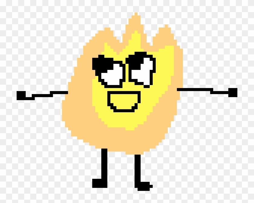 Bfdi/a/idfb/bfb Pin And Leafy - Smiley, HD Png Download
